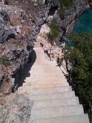 Steps to the Caribbean