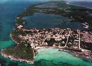 Alice Town and Hatchet Bay Arial